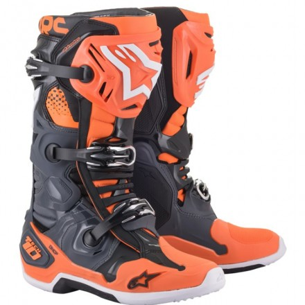 STIVALE CROSS TECH 10 COOL GRAY ORANGE FLUO
