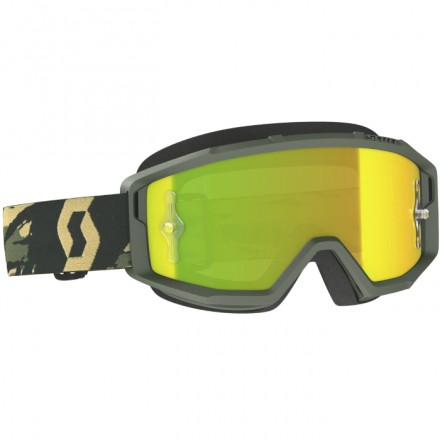 MASCHERINA PRIMAL CAMO KAKI YELLOW CHROME WORKS