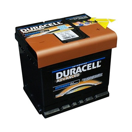 BATTERIA DURACELL ADVANCED 12V 50AH