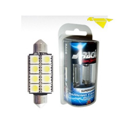 KIT 2 LAMPADINE LED W/CANCELLER L.36MM A