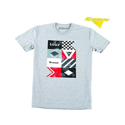 T-SHIRT TOUR GREY/MELANGE