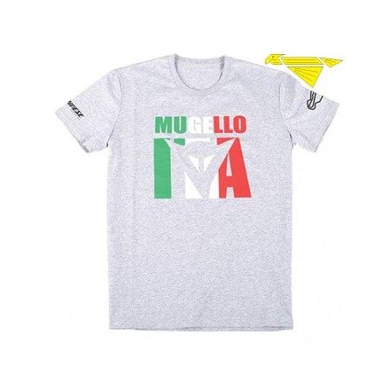 T-SHIRT MUGELLO D1 MELANGE/GRAY