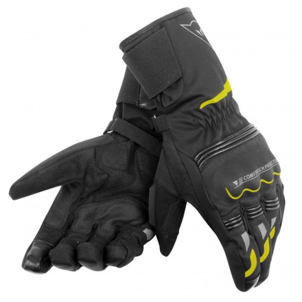 Guanto Tempest D-dry Long Unisex Blk/ylw-fluo
