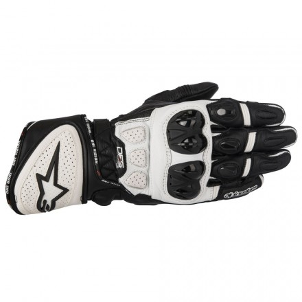 Guanto Gp Plus R Black/white