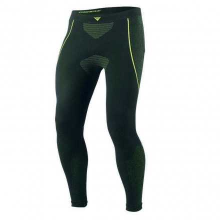 Pantalone D-core Dry Ll Blk/fluo Ylw