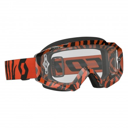 Mascherina Hustle Mx Blk/fluo Orange Clear