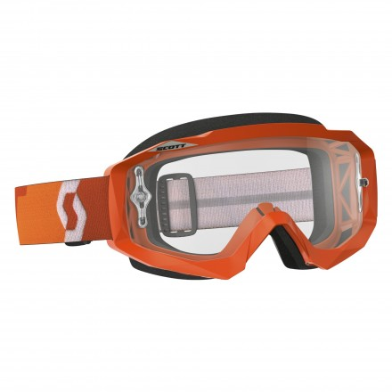 Mascherina Hustle Mx Orange/clear