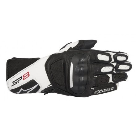 Guanto Sp-8 V2 Black/white