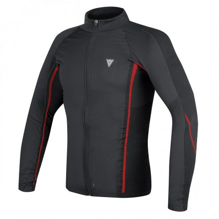 Maglia D-core No-wind Thermo Tee Ls Blk/red