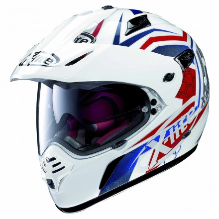Casco X-551 Gt Kalahari Metal White 029