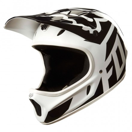 Casco Rampage Race White/black