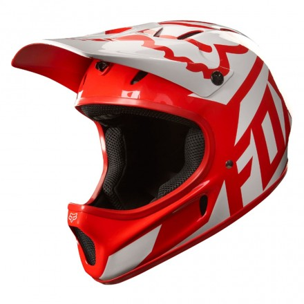 Casco Rampage Race Red/white