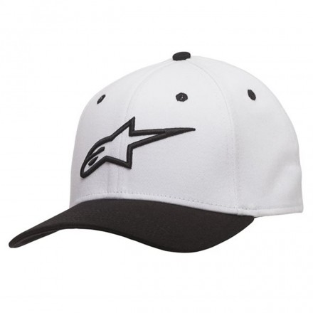 Cappello Ageless Curve White/black