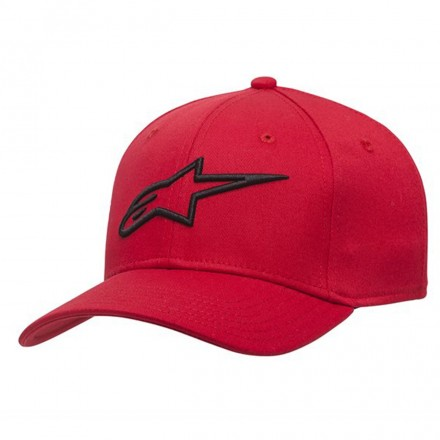 Cappello Ageless Curve Red