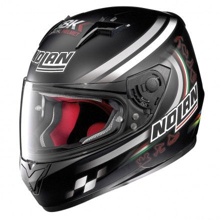 Casco N64 Sbk Flat Black 089