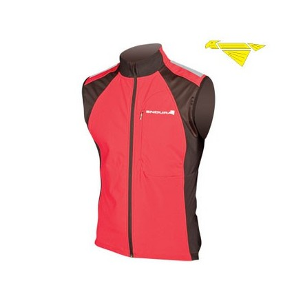 GILET WINDCHILL II RED