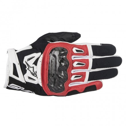 Guanto Smx-2 Air Carbon V2 Blk/rd/wht