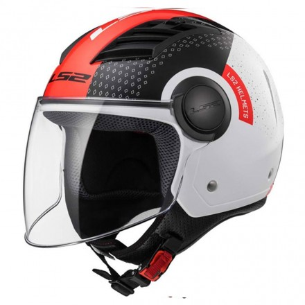 Casco Of562 Airflow Condor Wht/blk/red