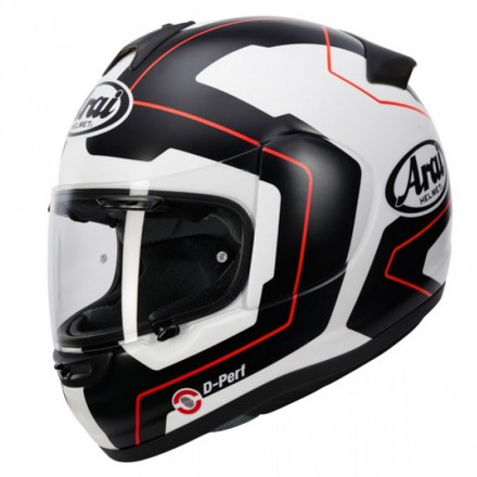 Casco Axces Iii Line Red New C/pinlock