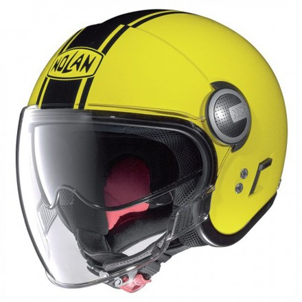 Casco N21 Visor Duetto Led Yellow 025