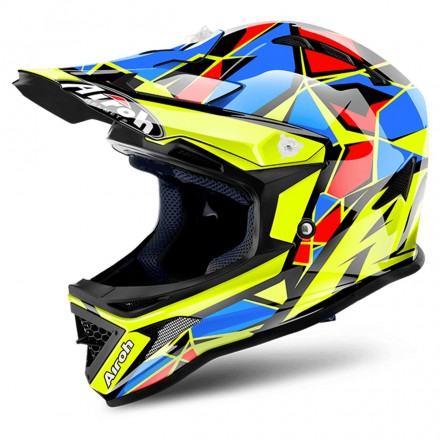 Casco Archer Chief Blue Gloss