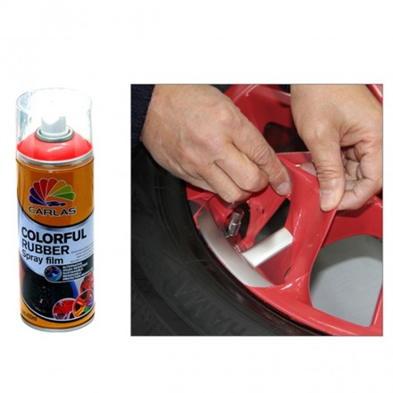 Spray Rubber Film Rosso