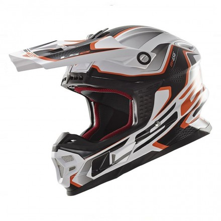 CASCO MX456 COMPASS WHITE ORANGE