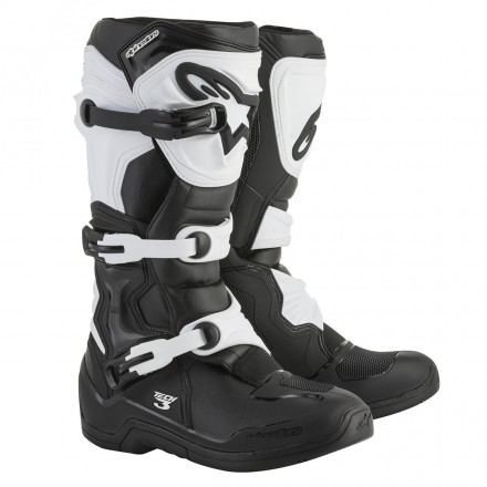 STIVALE CROSS TECH 3 BLACK/WHITE