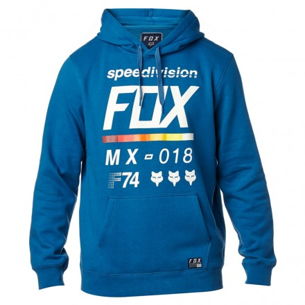 FELPA DISTRICT 2 PULLOVER DST BLU