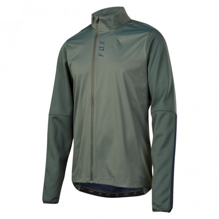 MAGLIA ATTACK THERMO DARK GREEN