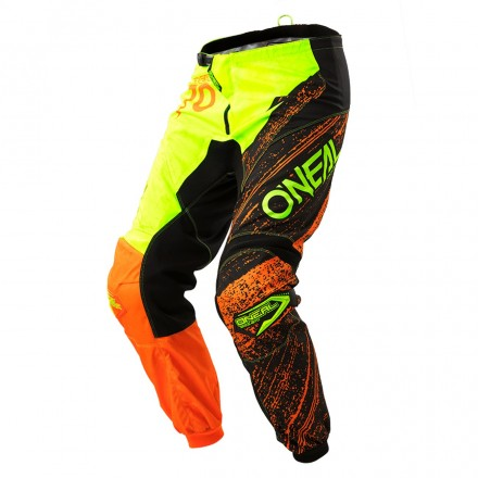 PANTALONE ELEMENT BURNOUT BLK/HI-VIZ/ORG