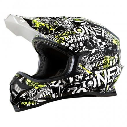 CASCO 3SERIES ATTACK YOUTH BLK/HI-VIZ