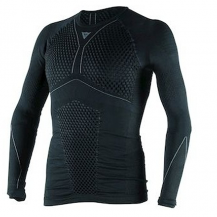 MAGLIA D-CORE THERMO TEE LS BLK/ANTH