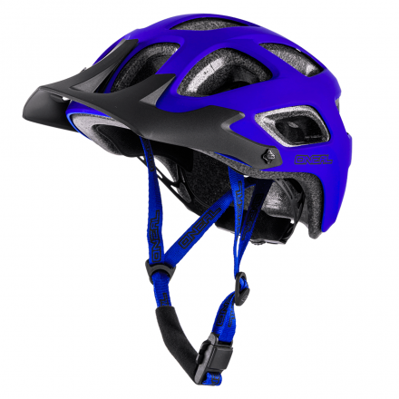 CASCO A THUNDERBALL YOUTH SOLID MAT BLU
