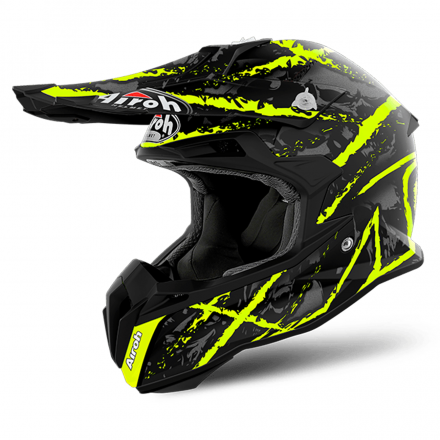 CASCO TERMINATOR OPEN VISION CARN.YELL.