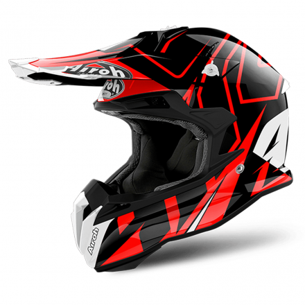 CASCO TERMINATOR OPEN VISION SH/RED