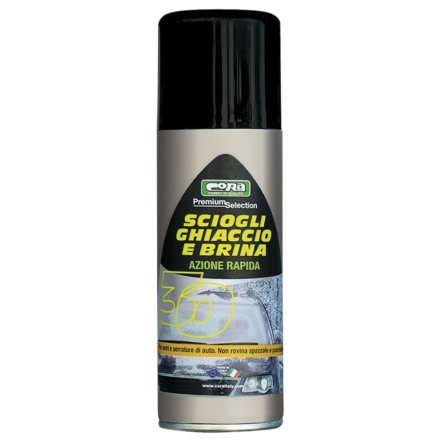 DEGHIACCIANTE VETRI 200 ML.SPRAY