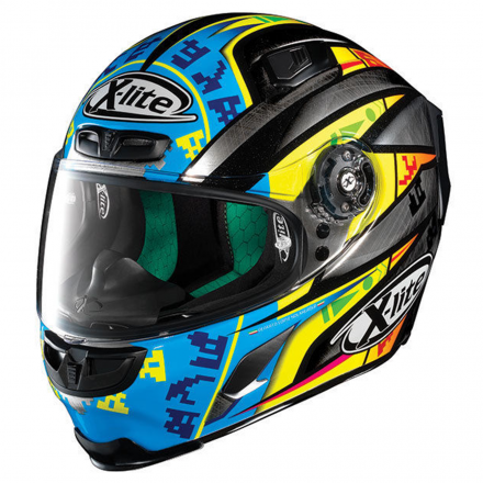 CASCO X-803 CAMIER SCRATCHED CHROME 025
