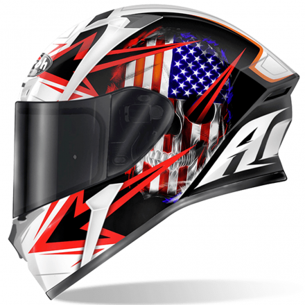 CASCO VALOR SAM BLACK GLOSS