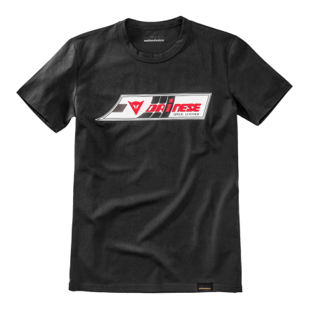 T-SHIRT SPEED-LEATHER BLACK