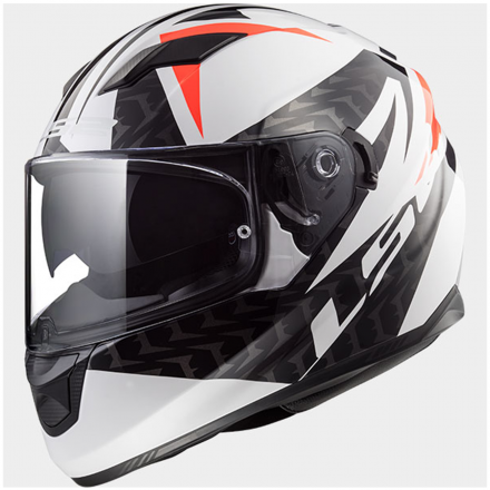 CASCO STREAM EVO COMMANDER WHT/BLK/RED