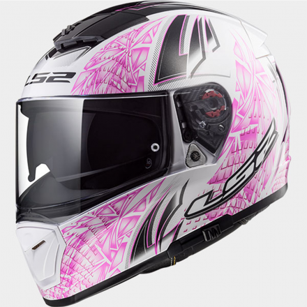 CASCO BREAKER RUMBLE WHITE/PINK
