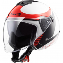 CASCO OF573 TWISTER PLANE WHITE/BLACK/RED