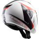 CASCO TWISTER PLANE WHITE/BLACK/RED