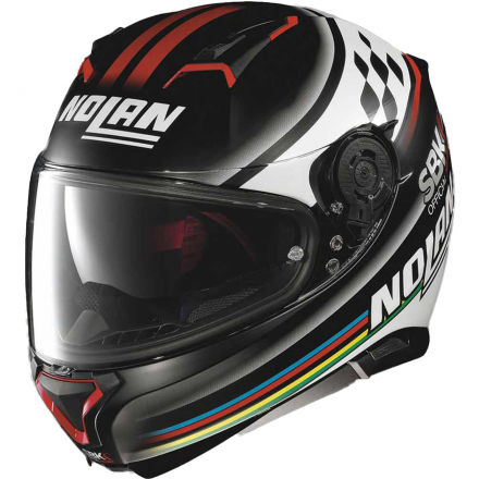 CASCO N87 SBK FLAT BLACK 060