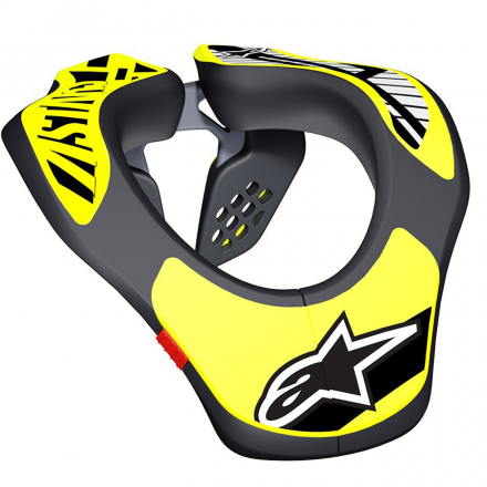 COLLARE YOUTH BLACK/YELLOW FLUO