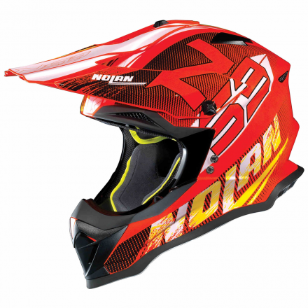 CASCO N53 WHOOP LED ORANGE 050