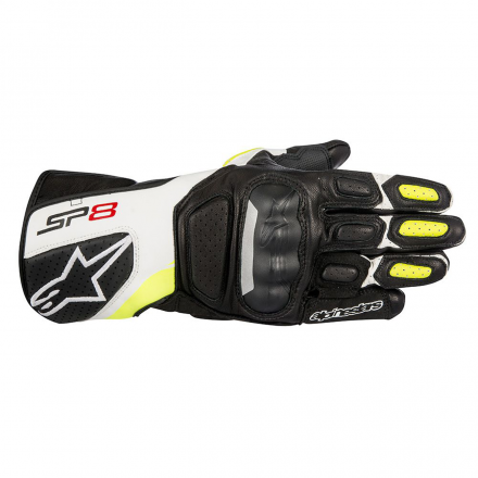 GUANTO SP-8 V2 BLACK/WHITE/YELLOW FLUO