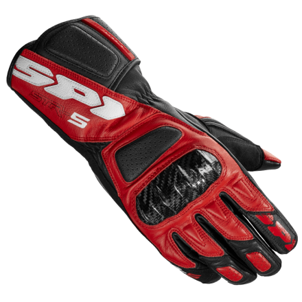 GUANTO STR-5 BLACK/RED