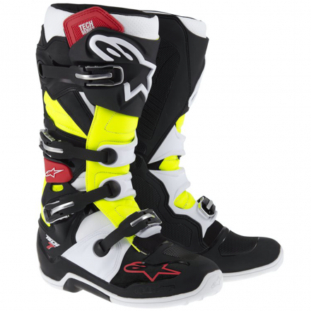 STIVALE CROSS TECH 7 BLACK/RED/YELLOW